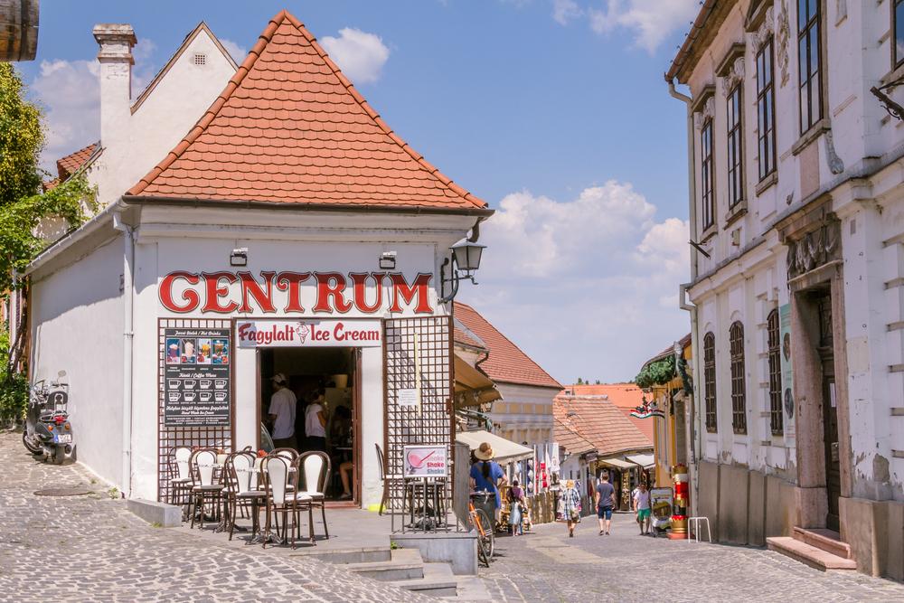 Szentendre touristic village near Budapest_350324246