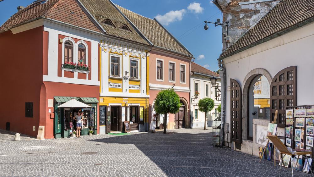 Szentendre near Budapest _350323892