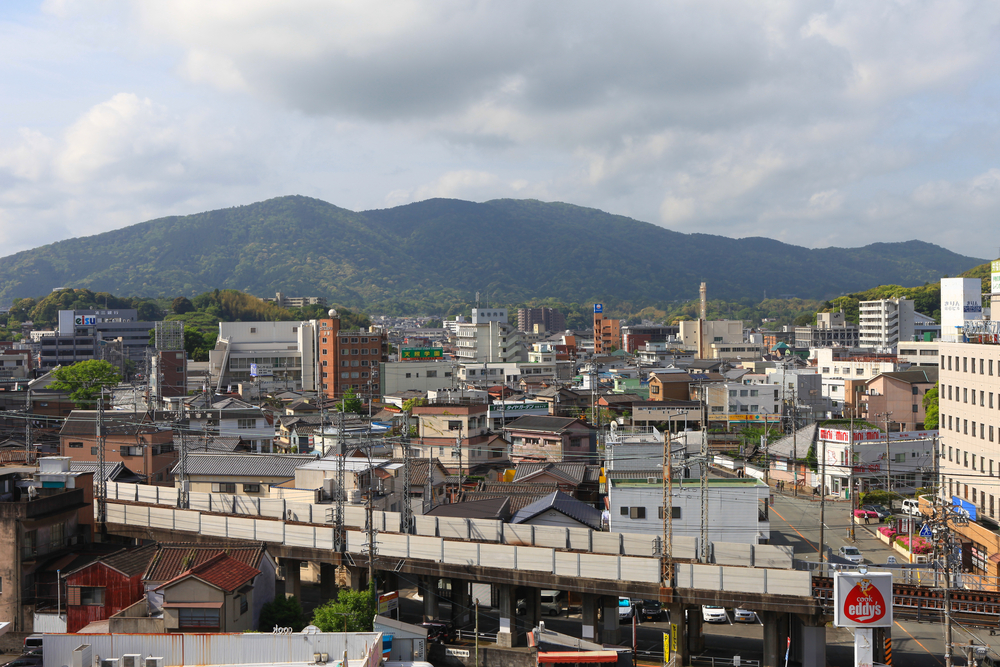 Skyline of the city of Ise_284097677