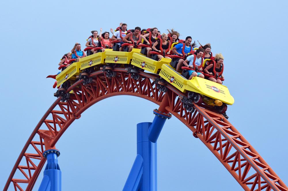Superman Escape in Movie World Gold Coast_234082120