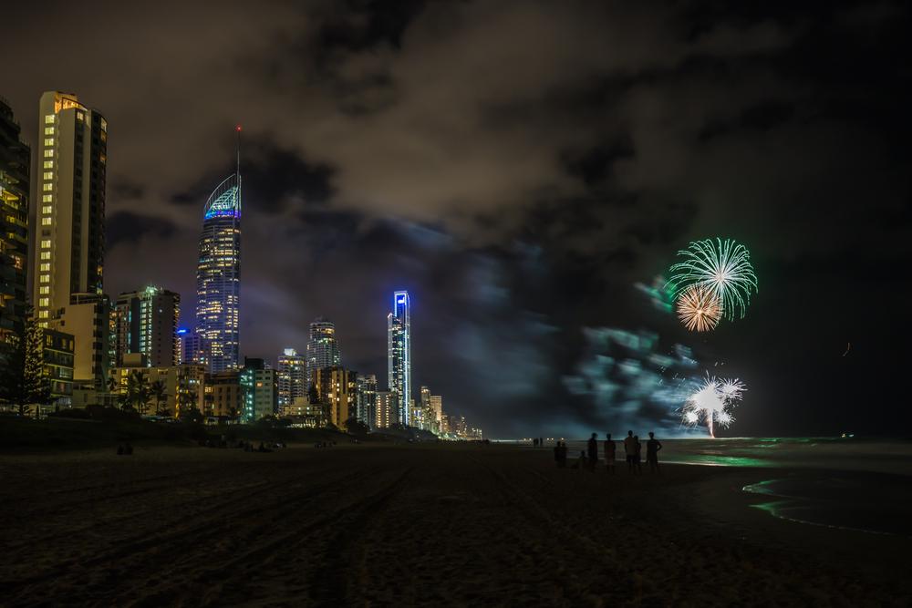 Firework celebrations on the Gold Coast_334013984