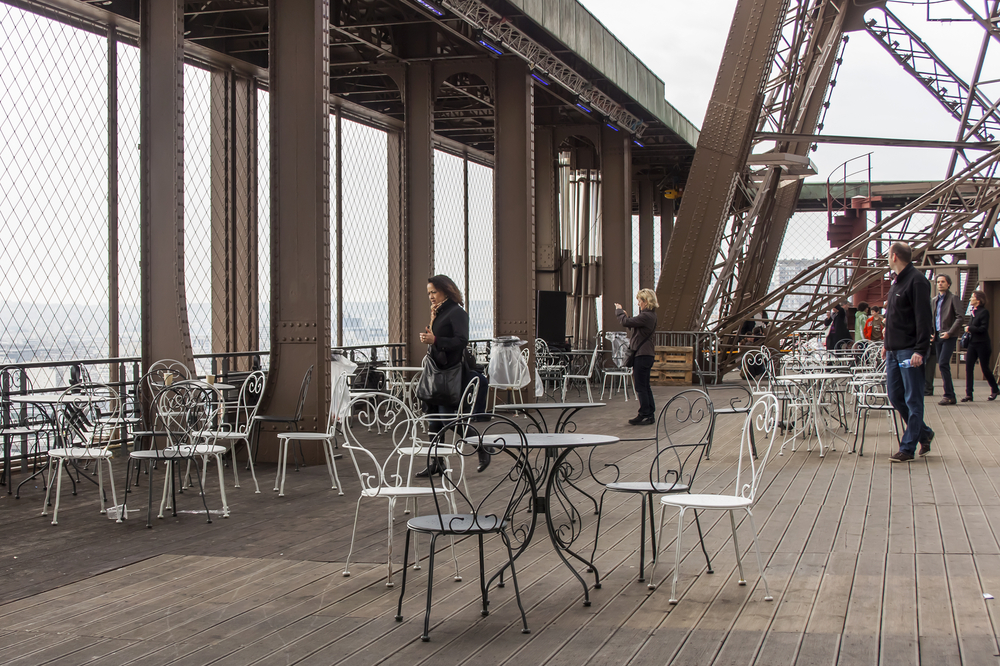 Cafe on a survey platform of the Eiffel Tower_241927378