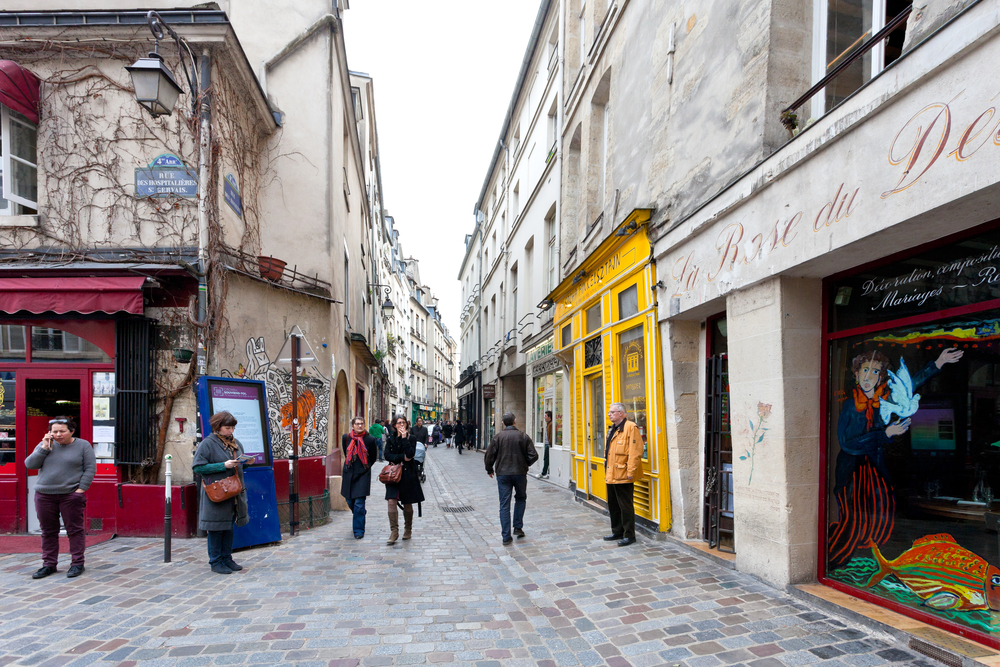 Jewish quarter of Le Marais_136089224