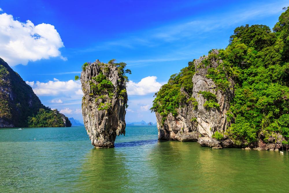 James Bond Island in Phang Nga Bay_369070397