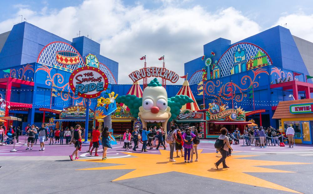 Simpsons Ride at Universal studios hollywood_283705454
