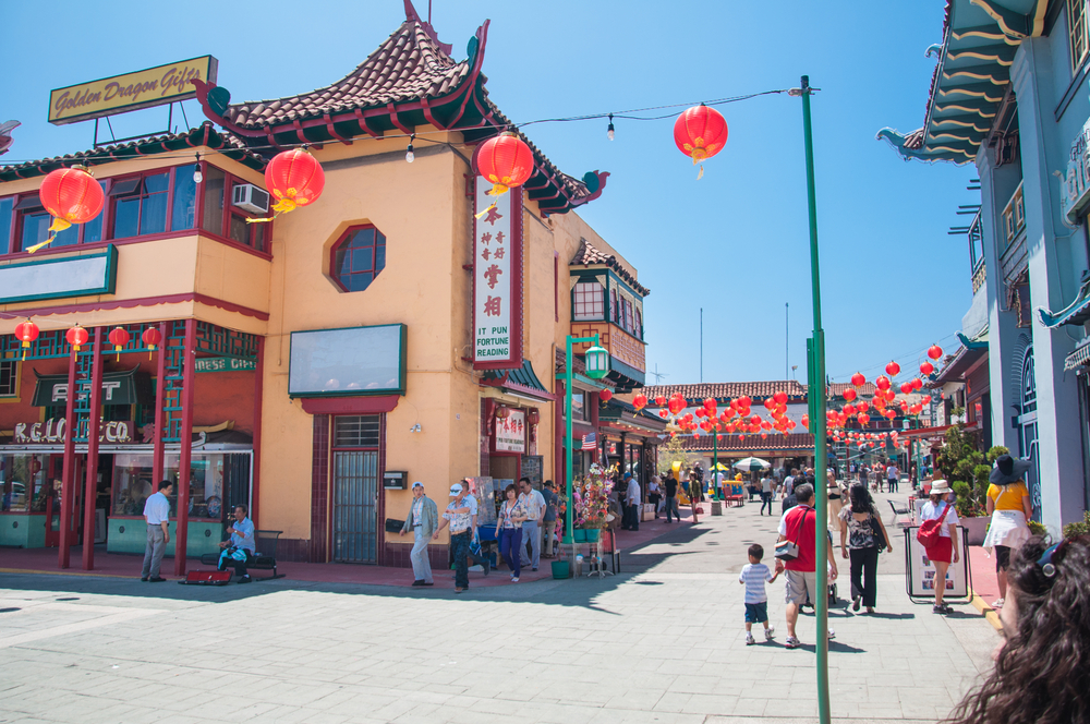 colorful Chinatown in Los Angeles_235156291