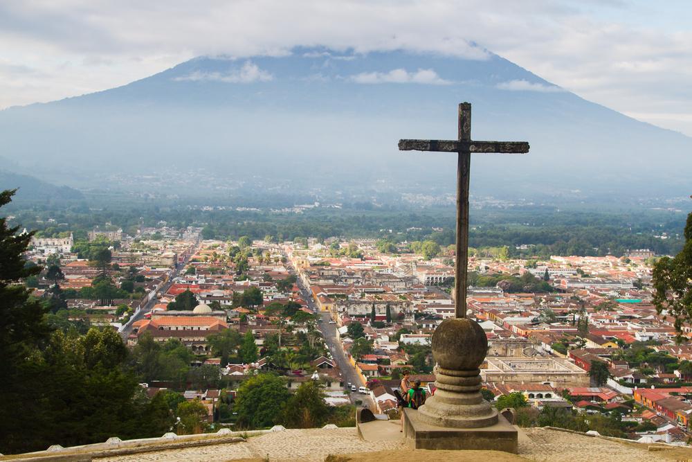Cerro de la Cruz in Antigua, Guatemala_192289157