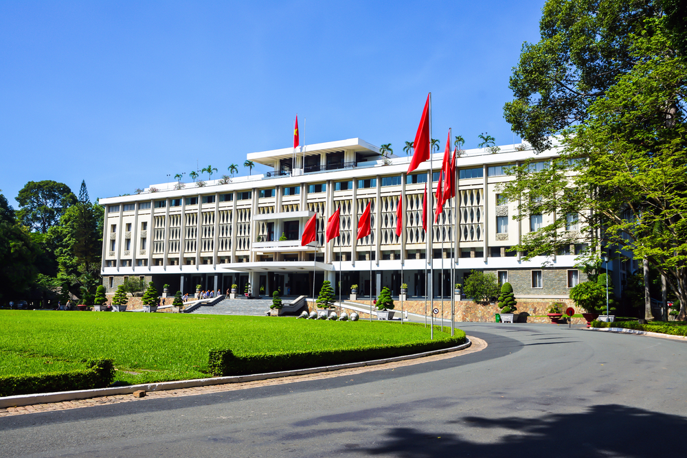 Reunification Palace in Ho Chi Minh City_300386063