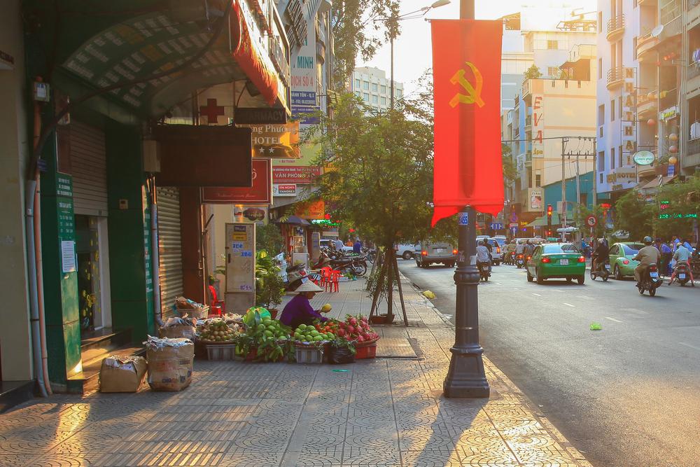 streets of Ho Chi Minh city_433027507