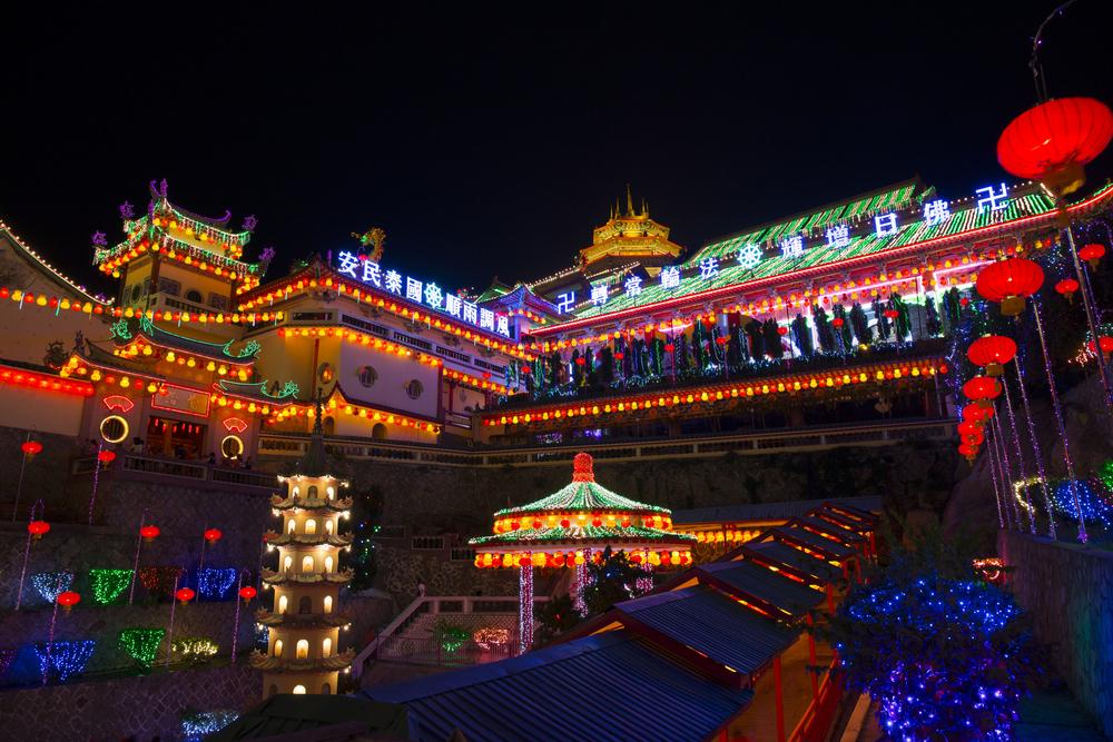 Kek Lok Si Temple facade_129829454