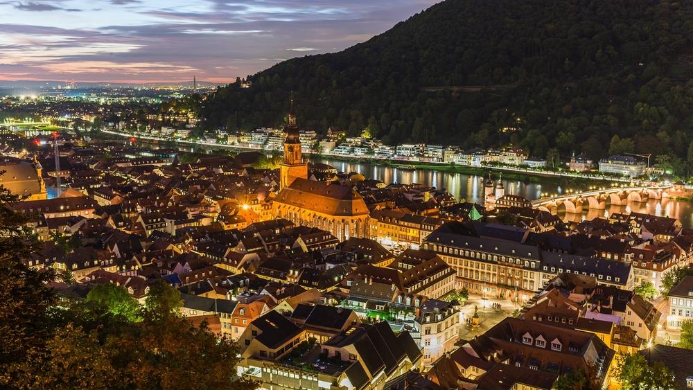 Sunset over Heidelberg_328638389