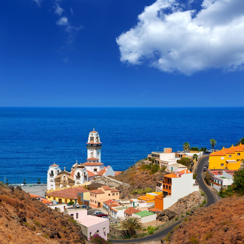 Basilica de Candelaria church in Tenerife at Canary Islands_113401588