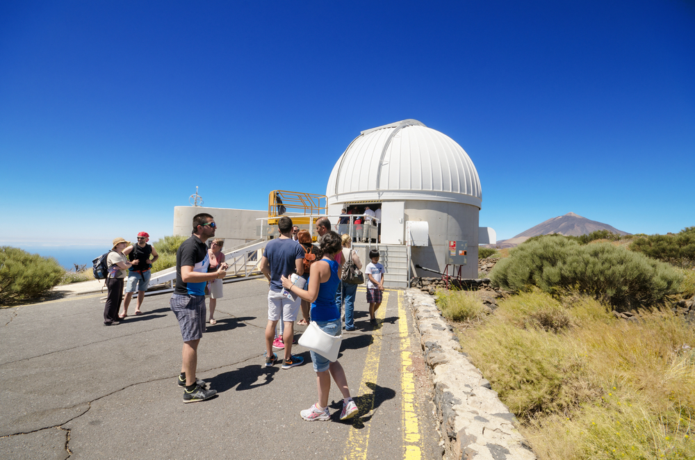 telescopes at Teide astronomical observatory _308523911
