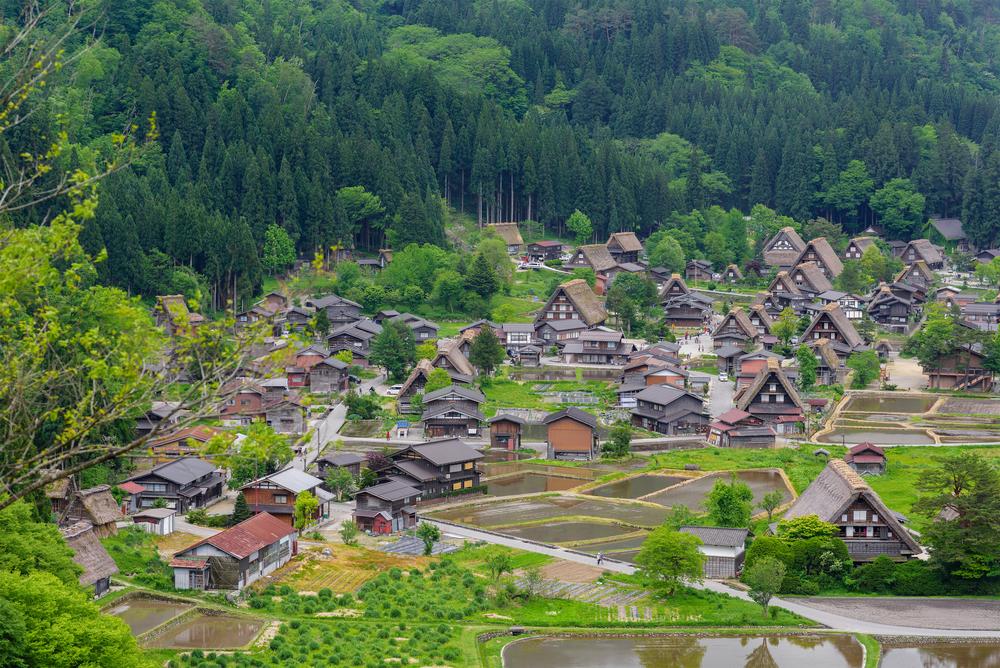 Shirakawago (Shirakawa Village) world heritage village _440891962