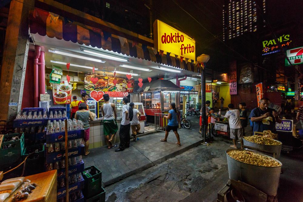 Local restaurant at Del Pilar Street _181605245