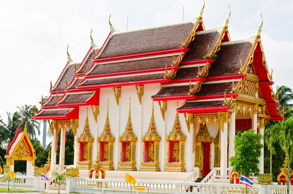 Thai temple in Phang-Nga province_121747678