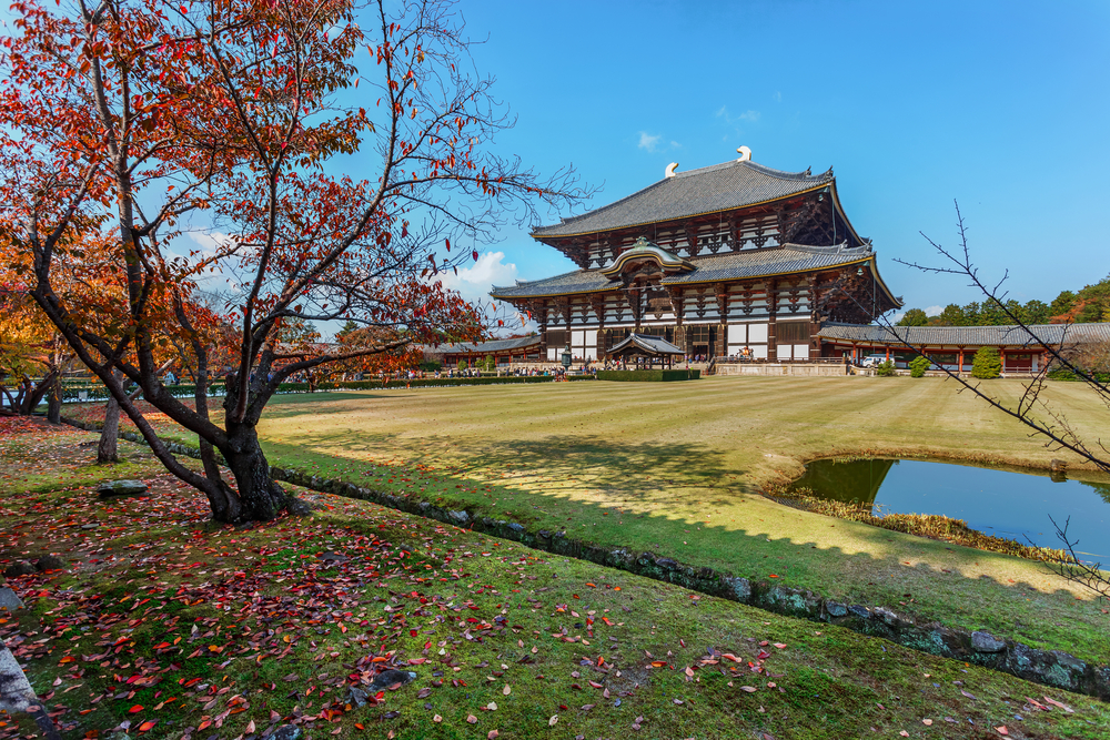 Great Buddha Hall in Nara_170355290