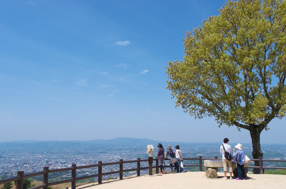 Nara cityscape from the top of Mt.Wakakusa _102047365