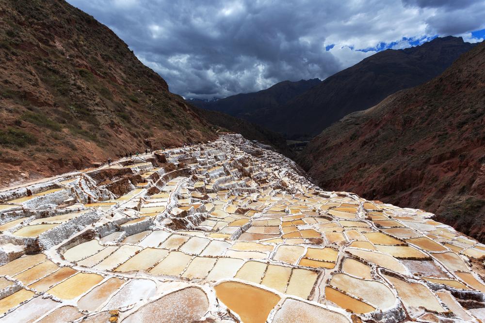 Salt ponds, Maras, Cuzco_220813876