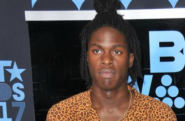 Daniel Caesar at the 2017 BET Awards held at Microsoft Theater on June 25, 2017 in Los Angeles, CA, USA