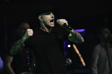Al Barr of Dropkick Murphys performs at Revolution.