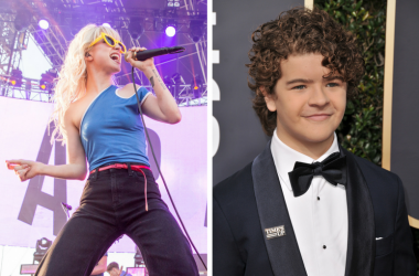 Paramore's Hayley Willams and Stranger Things' Gaten Matarazzo