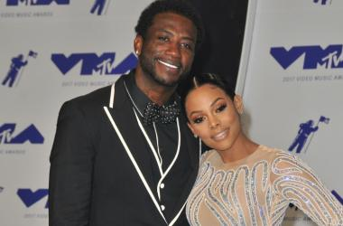 Gucci Mane and Keyshia Ka'Oir at the 2017 MTV Video Music Awards held at The Forum on August 27, 2017 in Inglewood, CA, USA