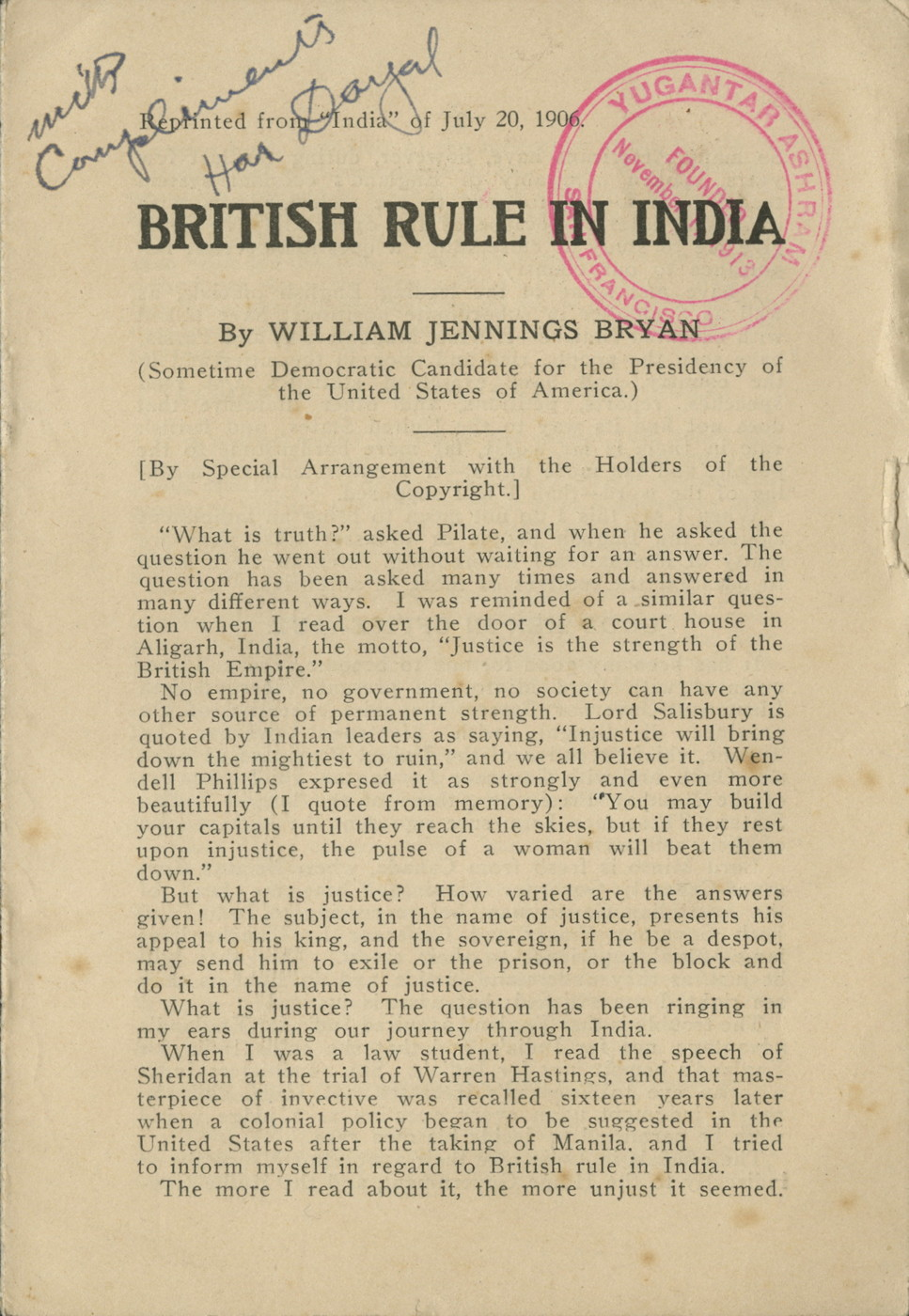 british rule in india The very idea of the british raj—the british rule over india—seems inexplicable today consider the fact that indian written history stretches back almost 4,000 years, to the civilization centers of the indus valley culture at harappa and mohenjo-daro also, by 1850, india had a population of at .