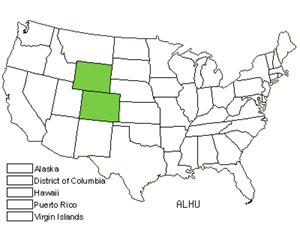 Native States for Colorado Aletes (Aletes Humilis)