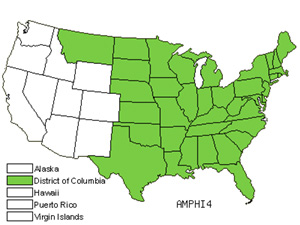 Native States for Hogpeanut (Amphicarpaea)