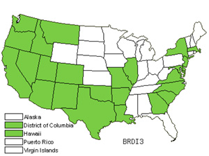 Native States for Ripgut Brome (Bromus Diandrus)