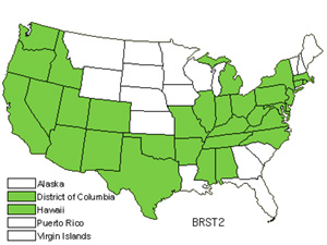 Native States for Poverty Brome (Bromus Sterilis)