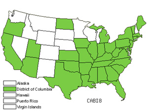 Native States for Southern Catalpa (Catalpa Bignonioides)