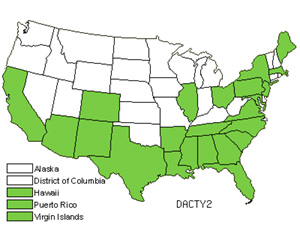 Native States for Crowfoot Grass (Dactyloctenium)