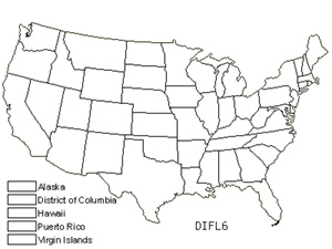 Native States for Dicranum Moss (Dicranum Flagellare)
