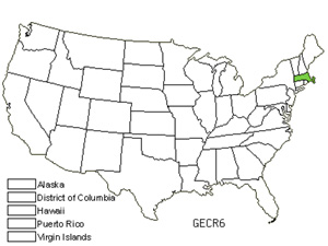 Native States for Star Gentian (Gentiana Cruciata)