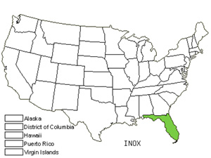 Native States for Asian Indigo (Indigofera Oxycarpa)