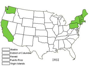 Native States for Siberian Iris (Iris Sibirica)