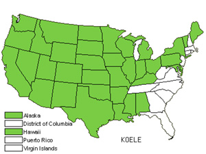 Native States for Junegrass (Koeleria)