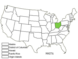 Native States for Star Magnolia (Magnolia Stellata)