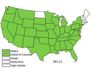 Native States for Melicgrass (Melica)