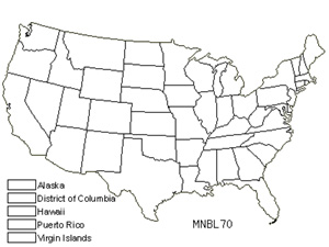 Native States for Blytt's Calcareous Moss (Mnium Blyttii)