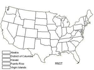 Native States for Stellar Calcareous Moss (Mnium Stellare)