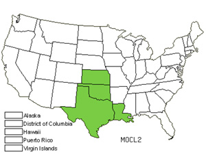 Native States for Basil Beebalm (Monarda Clinopodioides)