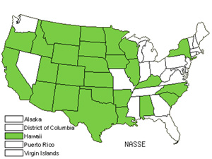 Native States for Needlegrass (Nassella)