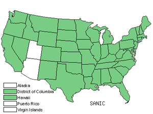 Native States for Sanicle (Sanicula)