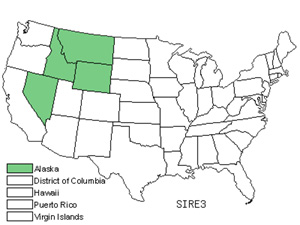 Native States for Pink Campion (Silene Repens)