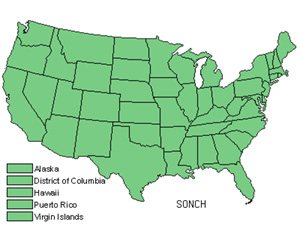 Native States for Sowthistle (Sonchus)