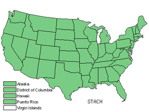 Native States for Hedgenettle (Stachys)