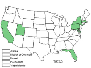 Native States for Fenugreek (Trigonella)